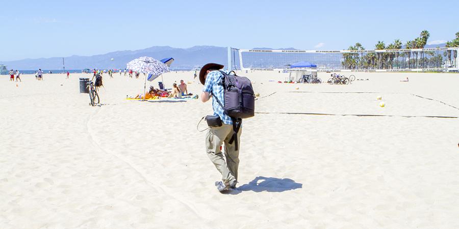 Kurt and the D16, Venice Beach