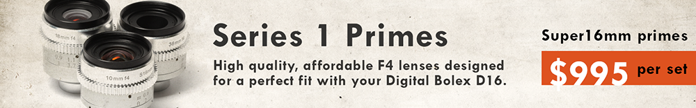 Digital Bolex/Kish Series 1 Primes Now Available